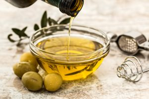 Olive oil is an important part of the Mediterranean diet.
