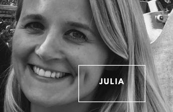 Julia shares her postnatal depression story with EatLiveLovefood