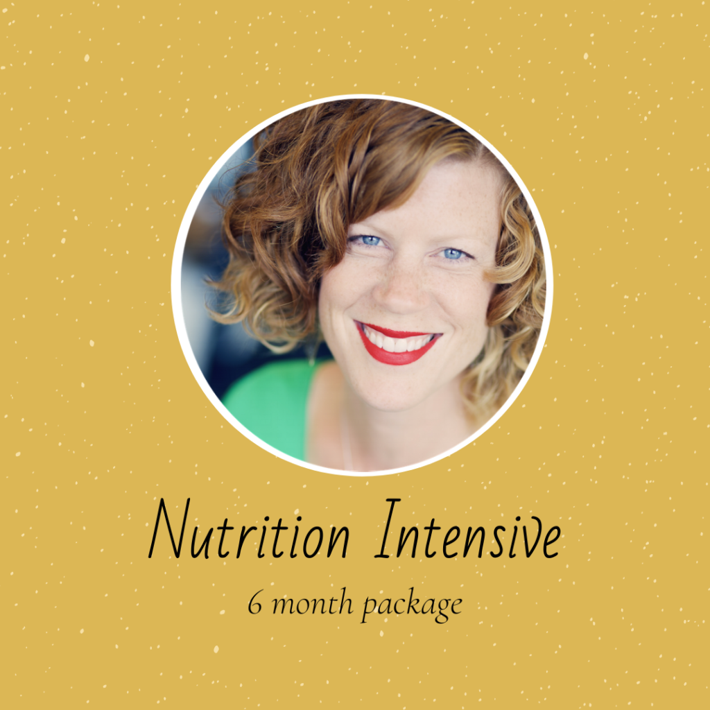 Nutrition intensive