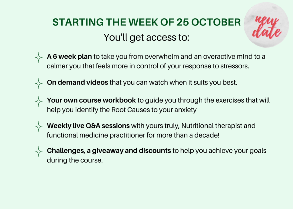What you have access to in the course